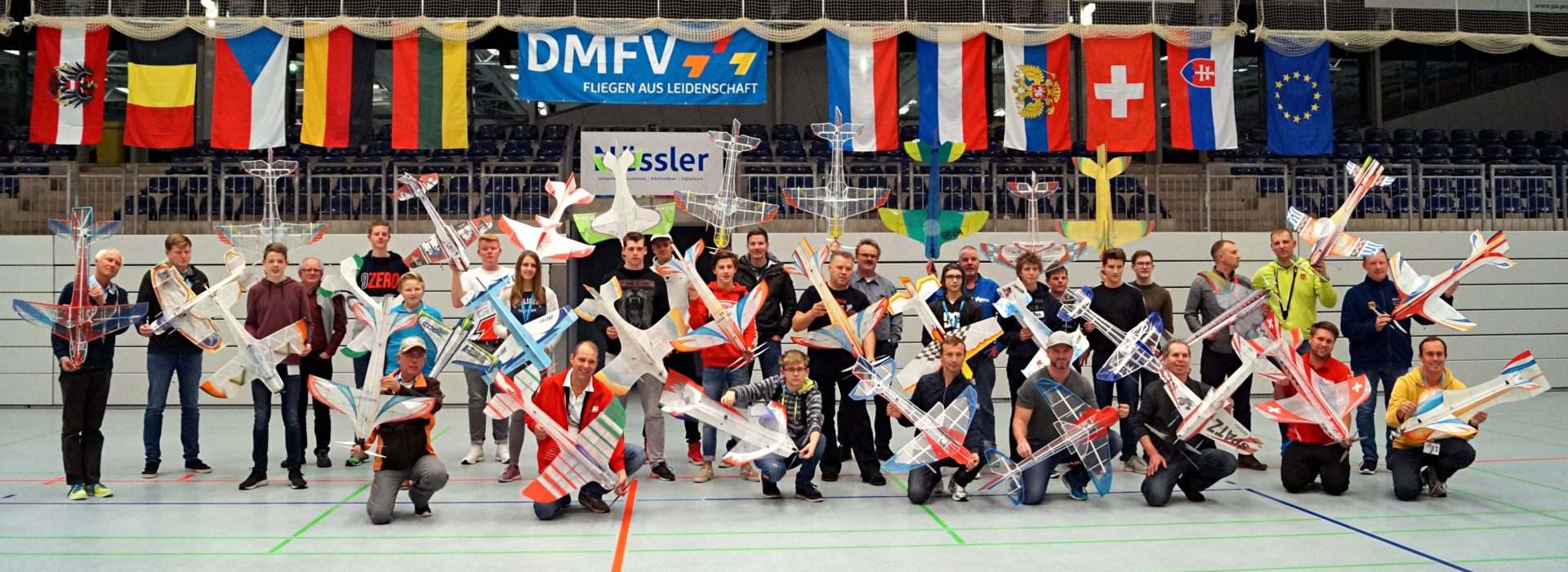 DM Indoor Kunstflug 2018 – Internationales Treffen in der Euregio
